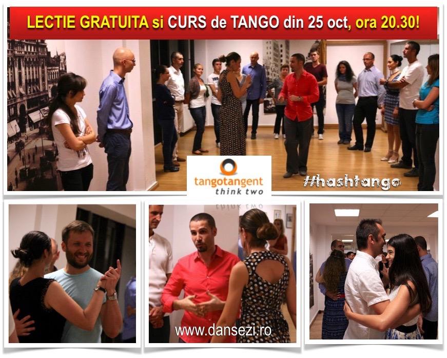lectie gratuita de tango pe 25 oct