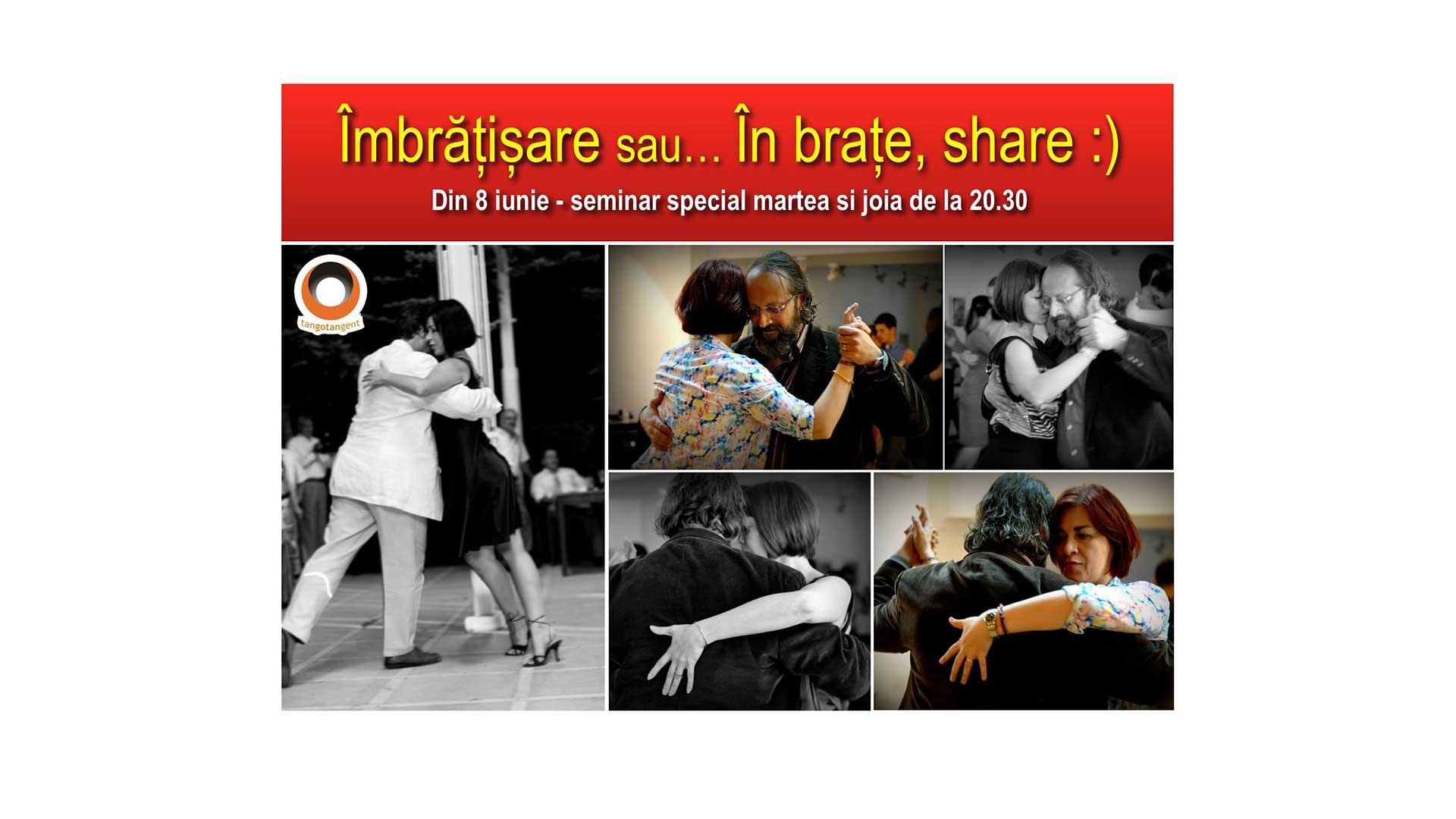 Îmbrățișare - Seminar special intensiv - tango-tangent-imbratisare