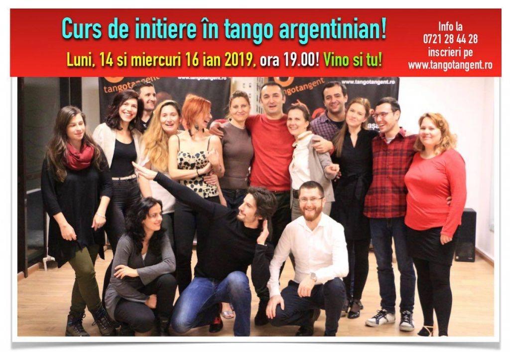 Curs de inițiere in tango si Lecție gratuită de prezentare, 7 pm