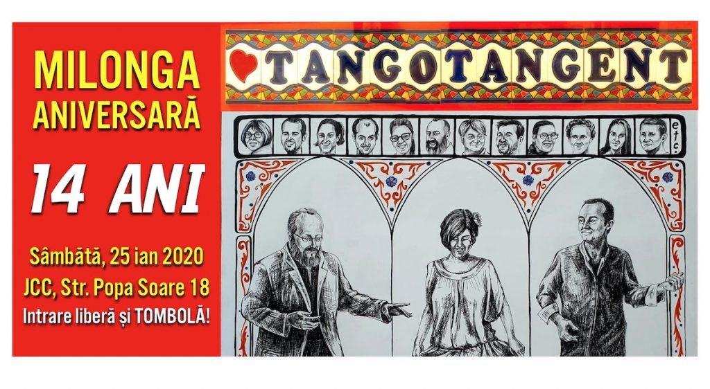 milonga tango tangent aniversară 14 ani