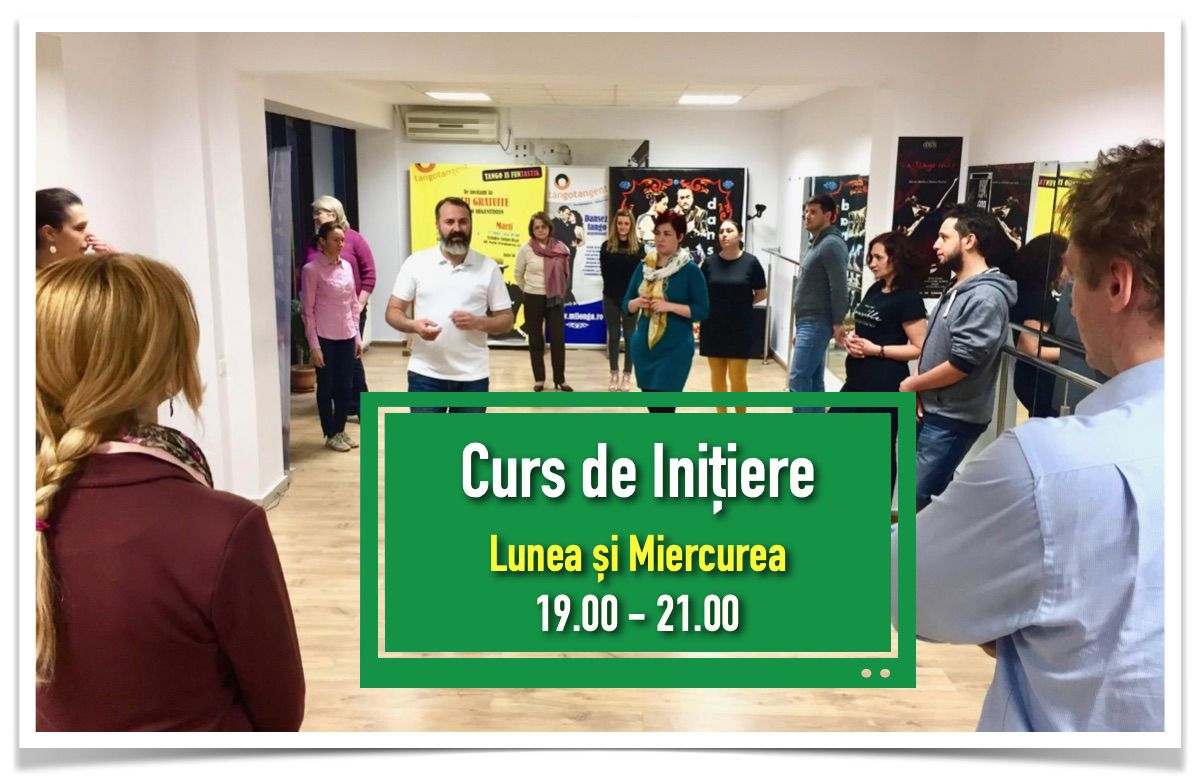 curs initiere tango tangent