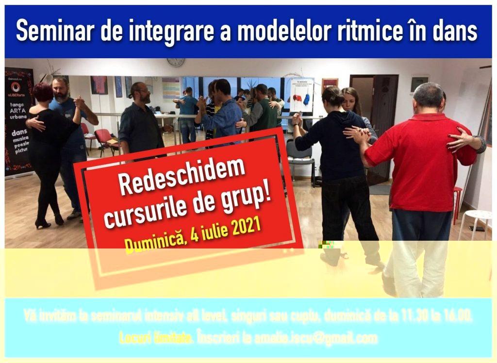 seminar intensiv modele ritmice tango tangent